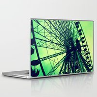 vienna Laptop & iPad Skins featuring Big wheel [Vienna] by Mi Nu Ra