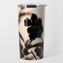 raindrops and hedge berries Travel Mug