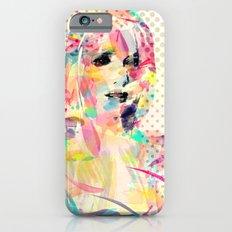 Abstract portrait Slim Case iPhone 6s