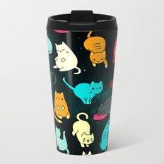 Kitty Space Metal Travel Mug