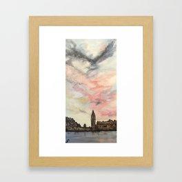 Wistful London Framed Art Print