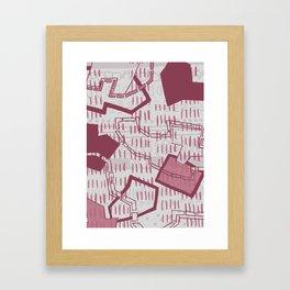 Geometric Journey Framed Art Print