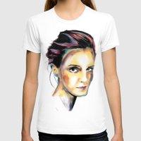 emma watson T-shirts featuring Emma Watson by caffeboy
