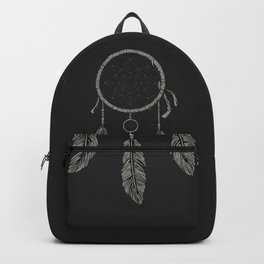 Dream catcher Black Backpack