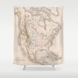 William T. Hornaday - Extermination of the American Bison (1889) Shower Curtain
