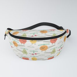 Fruits Helicopter Fanny Pack