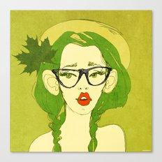selfie girl_7 Canvas Print