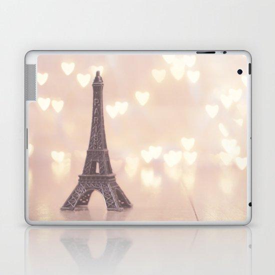 Left my heart in paris Laptop & iPad Skin