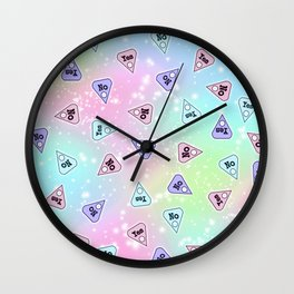 YES OR NO - Pastel Wall Clock