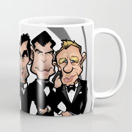 Faces of Bond Coffee Mug