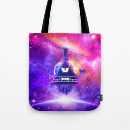 Bill Cipher Mystical Pyramid - Eye Of Providence Tote Bag