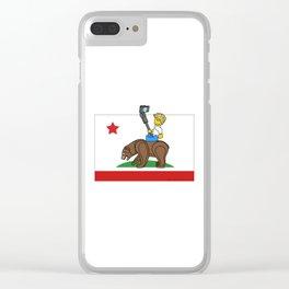Cali Selfie Clear iPhone Case