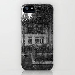 Paris road iPhone Case