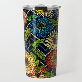 Chrissy Flowers Bohemian Travel Mug