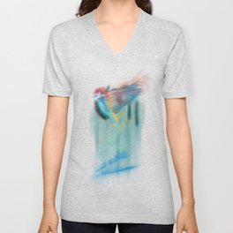 Aurora bird Unisex V-Neck