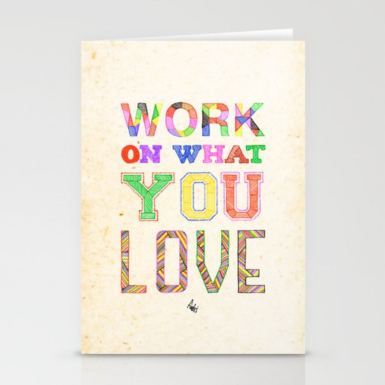 Life & Love Stationery Cards