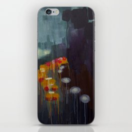 Fall Rain iPhone Skin