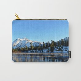 Mount Shuksan from Picture Lake in the Autumn Carry-All Pouch