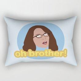 Oh Brother Rectangular Pillow