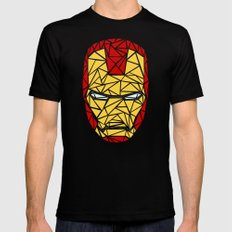 Iron Man Black MEDIUM Mens Fitted Tee
