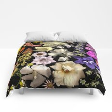 Floral Rainbow Comforters