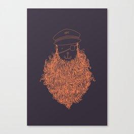 Aye Aye Captain Canvas Print