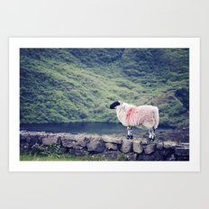 Living on the Edge Art Print