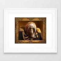 general Framed Art Prints featuring General by Fabio Leone