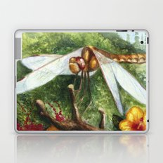 Amber Dragonfly Laptop & iPad Skin