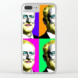 Marilyn Corbyn x 4 Clear iPhone Case