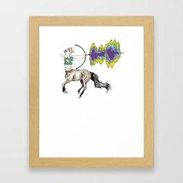 eagle centaur Framed Art Print