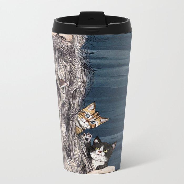 Beardnest Metal Travel Mug