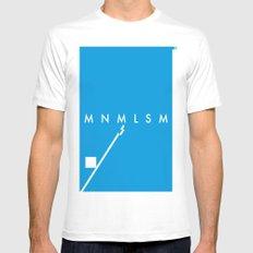 Minimalism• Mens Fitted Tee White MEDIUM