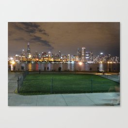 Chicago Skyline - Light (Sept. 27) Canvas Print