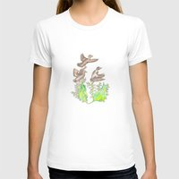 ducks T-shirts featuring  Wild ducks by Thesecretcolors