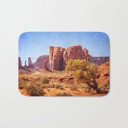 Most Interesting View of Monument Valley Bath Mat