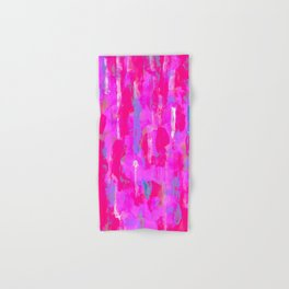 Vibrant Pink Hand & Bath Towel