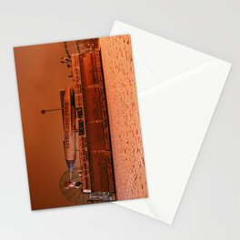 Coney Island - Gregory & Pauls in the winter Stationery Cards