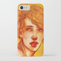 apollo iPhone & iPod Cases featuring apollo by chazstity
