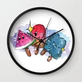 Stay frosty sparky! Wall Clock