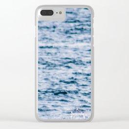 profundo Clear iPhone Case