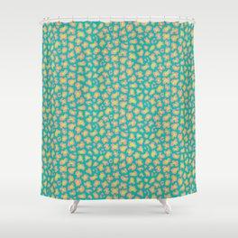 Leopard Summery Shower Curtain