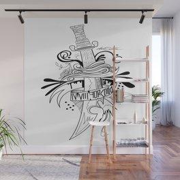 Symbolic Sword Wall Mural