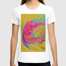 Metamorphosis with me-chartreuse T-shirt