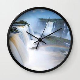 Iguazu Falls Wall Clock
