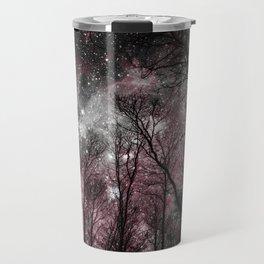 Black Tress Pink & Gray Space Travel Mug