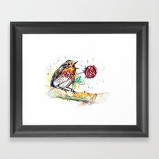 little songbird Framed Art Print