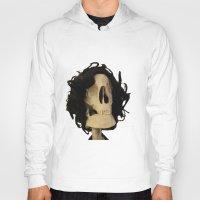 skeleton Hoodies featuring skeleton by Francesco Mestria