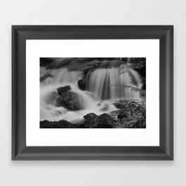 Steeton Falls Framed Art Print