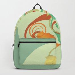 Three Hawthorn Leaves Backpack
